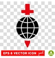 Global Safety Sword Eps Icon vector image vector image