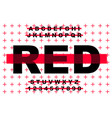grunge modern bold font and alphabet vector image vector image
