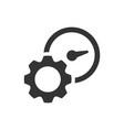 productivity efficiency icon vector image
