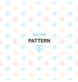 seamless pattern with circles square triangle an vector image vector image