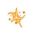 star sea icon design vector image vector image