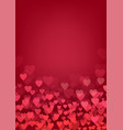 valentine day wedding love postcard romantic vector image vector image
