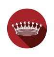 Royal design element regal icon Stylish majestic vector image