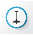 ceiling lamp icon symbol premium quality isolated vector image vector image
