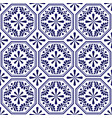 decorative seamless tile pattern vector image vector image