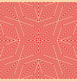 geometric lines pattern seamless background in vector image vector image