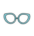 glasses to use in the eyes vector image vector image