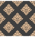 Grey and beige seamless pattern vector image vector image