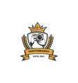 luxury photographer silhouette logo vector image vector image