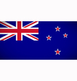 National flag of New Zealand vector image vector image