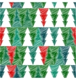 Christmas tree with scetch lines card EPS vector image