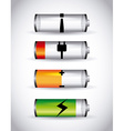battery power vector image vector image
