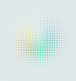 gray abstract background dots pastel colors vector image vector image