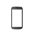 Isolated cellphone vector image vector image