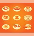 japanese restaurant food vector image