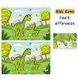 quiz for kids vector image vector image