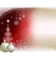 red beige new year s background vector image vector image