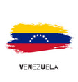 venezuela watercolor national country flag icon vector image