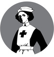 World War One Nurse Clipart vector image