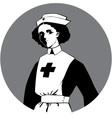 World War One Nurse Clipart vector image vector image