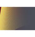 yellow halftone circle background vector image