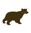 bear simply form vector image