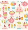 Easter party pattern vector image vector image