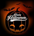 halloween vintage background vector image vector image