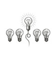 idea innovation hand drawn business concept vector image
