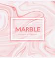 liquid marble texture design paint splash vector image vector image