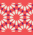 moroccan islamic style geometric tile pattern vector image