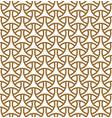 seamless geometric pattern in golden geometric vector image