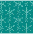 seamless hand-drawn christmas and new year pattern vector image vector image