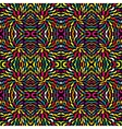 Abstract psychedelic background vector image