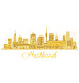 auckland new zealand city skyline golden