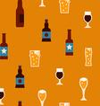 BeerSeamless vector image vector image