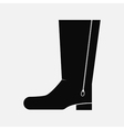 Black Boot vector image