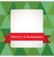 Christmas background Merry Christmas vector image vector image