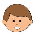 cute boy avatar character vector image vector image