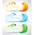 Elements Banners vector image