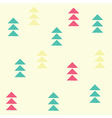 Geometric triangles seamless pattern vector image