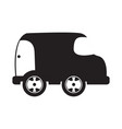 isolated car toy icon vector image vector image