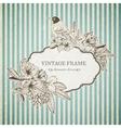 Romantic vintage card vector image vector image