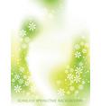 springtime seamless background vector image