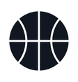 basketball ball sport vector image