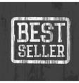 best seller stamp vector image vector image