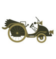 concept of vintage old vector image