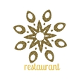 Hotel Logo logo template for restaurant vector image vector image