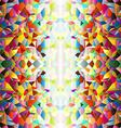 Mosaic small tiles 3 vector image vector image