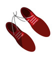 tied shoes icon image vector image vector image